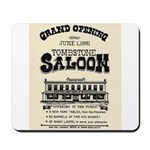 Tombstone Saloon Mousepad