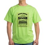 Tombstone Saloon Green T-Shirt