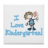 Cool Kindergarten Tile Coaster