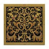 Spanish Ebony Tile Coaster