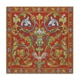 Spanish Ornate Tile Coaster