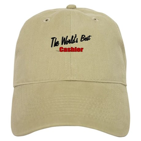 "'The World's Best Cashier"" Cap"