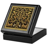 Spanish Ebony Keepsake Box