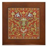 Spanish Ornate Framed Tile
