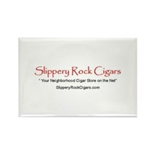 Slippery Rock Cigars Rectangle Magnet