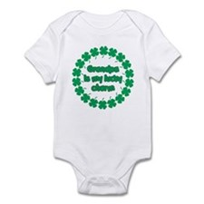 Grandpa is My Lucky Charm Infant Bodysuit
