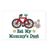 Mommy's Dust Cycling Bicycle Postcards (Package of