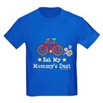Mommy's Dust Cycling Bicycle Kids Dark T-Shirt