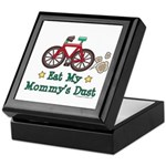 Mommy's Dust Cycling Bicycle Keepsake Box