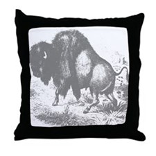 Buffalo Ranch Throw Pillow