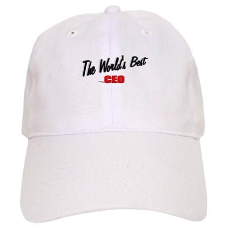 """The World's Best CEO"" Cap"