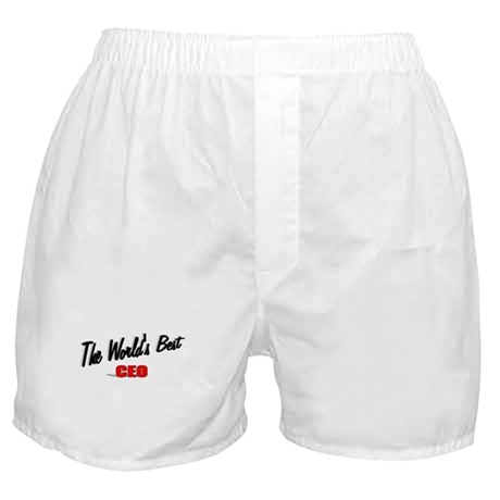 """The World's Best CEO"" Boxer Shorts"
