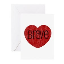 Brave Heart Greeting Cards (Pk of 10)