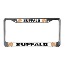 Buffalo Ranch License Plate Frame