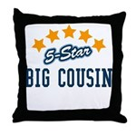 5-Star Big Cousin Throw Pillow