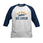 5-Star Big Cousin Kids Baseball Jersey