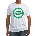 PapPap is My Lucky Charm Fitted T-Shirt