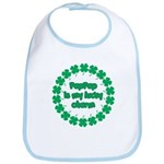 PapPap is My Lucky Charm Bib
