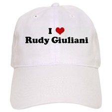 I Love Rudy Giuliani Baseball Cap