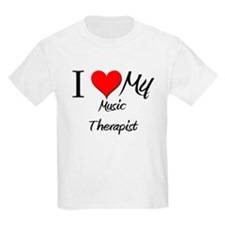 I Heart My Music Therapist T-Shirt