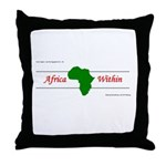 Africa Within Throw Pillow