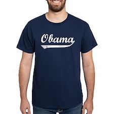 Obama Script Font T-Shirt