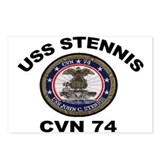 USS John Stennis CVN 74 Postcards (Package of 8)