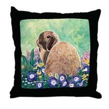 Bunnibun Throw Pillow