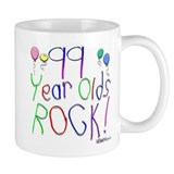 99 Year Olds Rock ! Small Mug