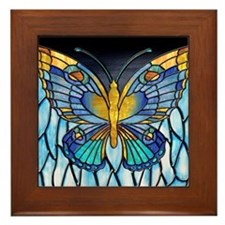 Butterfly Framed Tile