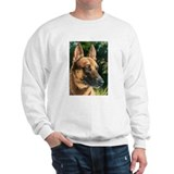 Sweatshirt with belgian Malinois