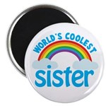 world's coolest sister Magnet