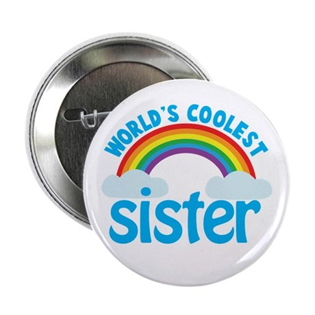 "world's coolest sister 2.25"" Button"