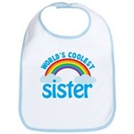 world's coolest sister Bib