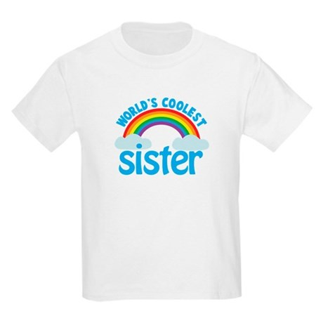 world's coolest sister Kids Light T-Shirt