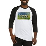 Baseball Jersey with fox hounds