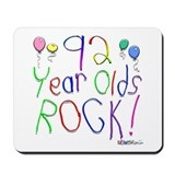 92 Year Olds Rock ! Mousepad