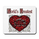 World's Best Witch Mousepad