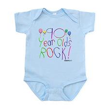 90 Year Olds Rock ! Infant Bodysuit