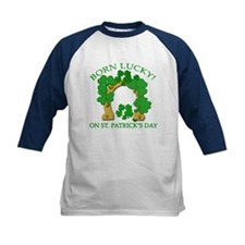 Born Lucky on St. Pats Day Tee