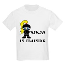 Blonde Ninja In Training T-Shirt
