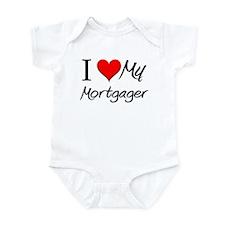 I Heart My Mortgager Infant Bodysuit