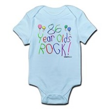 86 Year Olds Rock ! Infant Bodysuit
