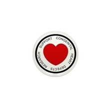 CHD SUPPORT Mini Button (10 pack)