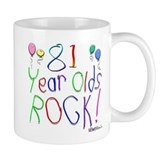 81 Year Olds Rock ! Mug