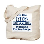 Big Brother in Charge Tote Bag