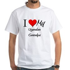 I Love My Ugandan Grandpa Shirt
