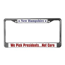 New Hampshire Primary License Plate Frame