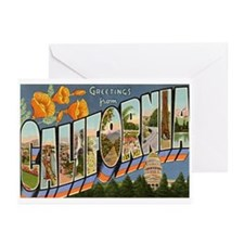 Greetings from California II Greeting Cards (Pk of