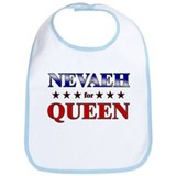 NEVAEH for queen Bib